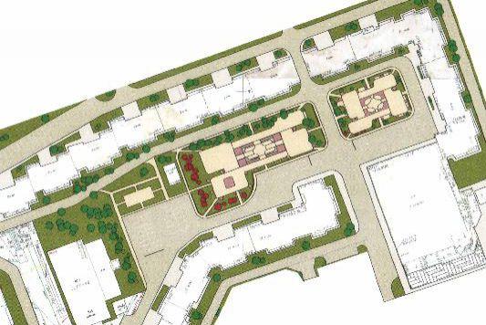 План-проект реконструкции двора Попова 36