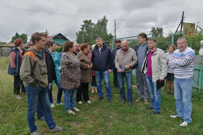 ГЛАВА ДЗЕРЖИНСКА ПОСЕТИЛ ПОСЁЛКИ 32-ОГО ОКРУГА