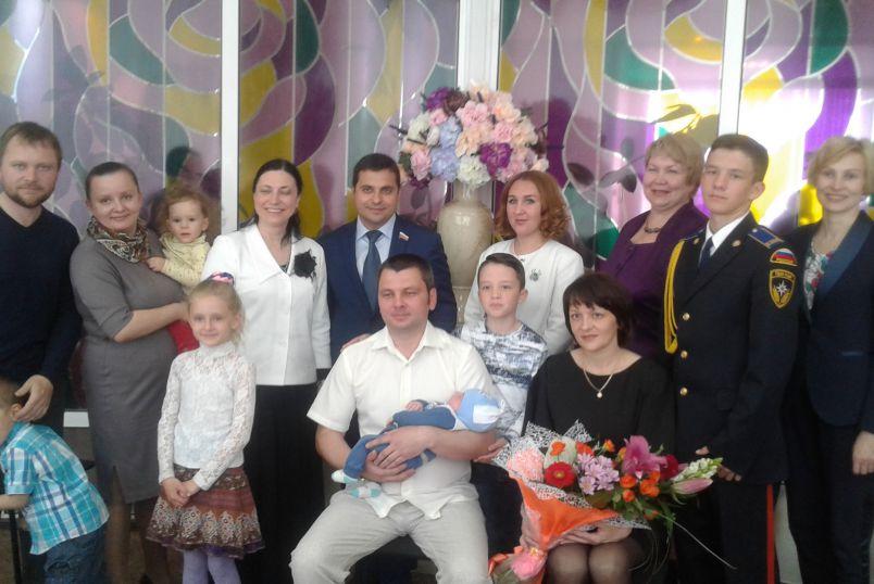 Тысячный новорожденный в Дзержинске